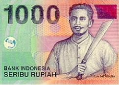 1000 rupia