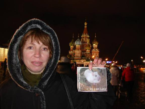 Extreme HamsterTrackin' on the Red Square, Moscow, Russia by Irina and Tanja